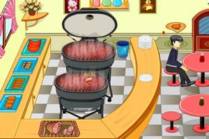 新式烧烤店