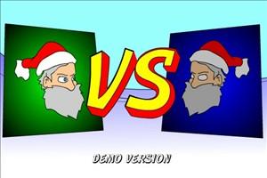圣诞老人打架