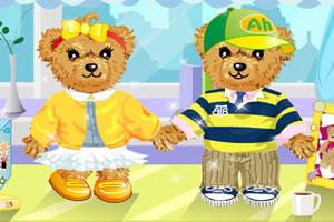 情侣泰迪熊
