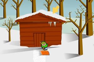 圣诞铲雪工