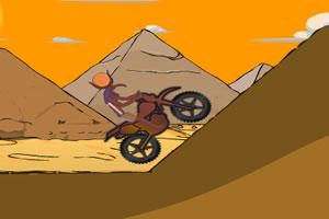 沙漠摩托赛