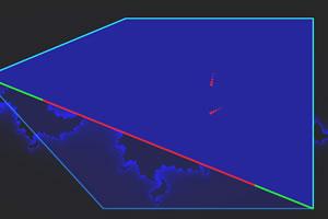 空间分割线