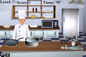 当厨师做菜