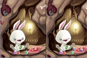 复活节兔子的差异