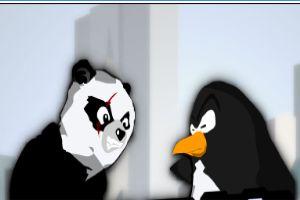 熊猫企鹅领土之战