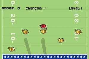 美式足球传递赛