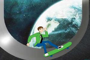 少年骇客太空滑板