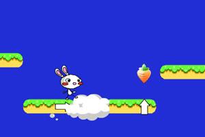 小兔子吃萝卜