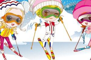 滑雪爱好者
