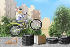 杂技摩托车