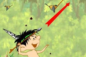 原始猎鸟的办法