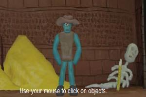 黏土人的密室历险