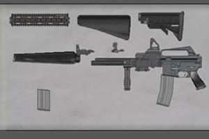 组装自动步枪
