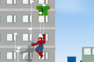 蜘蛛侠收衣服