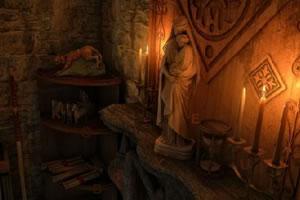 中世纪房间找字母