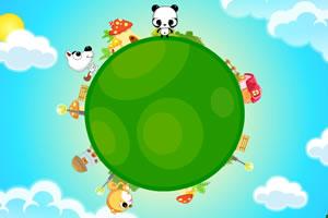 熊猫小砖游地球