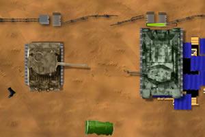 坦克阵地战