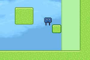 小巧蓝方块