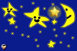 小朋友摘星星