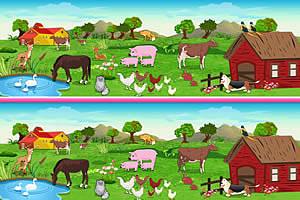 农场找不同