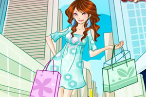 时髦的购物女孩中文版