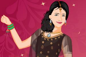 印度女孩装扮