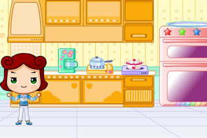 大头妹布置厨房
