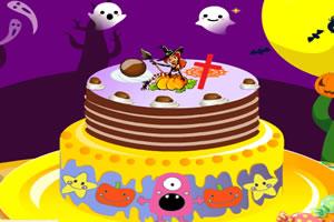 奇趣的万圣节蛋糕