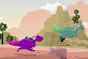 小恐龙赛跑