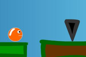 橙色彩球回家