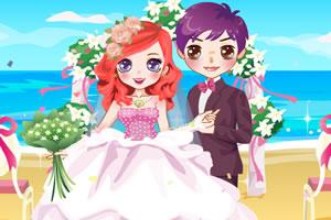 沙滩浪漫婚礼