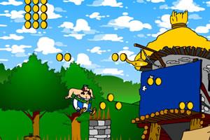高卢勇士收集金币