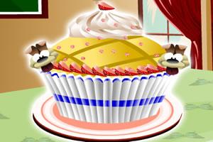 纸杯蛋糕制作