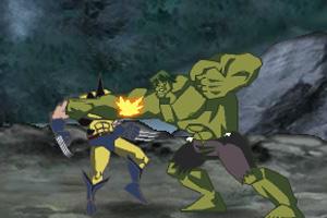 绿巨人大战超级英雄