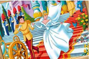 灰姑娘与王子拼图