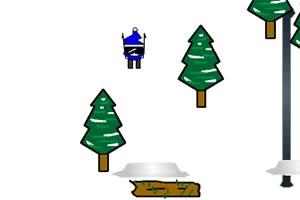 高山障碍滑雪