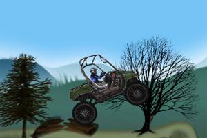 山地疯狂越野车