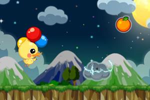 阿尔气球飞行