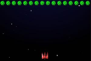 红色太空战斗机