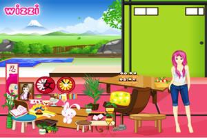 富士山下的餐厅