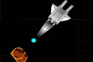 旋转射击陨石
