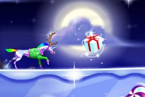 奔跑彩虹马圣诞版
