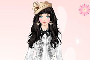 靓丽贵族小姐