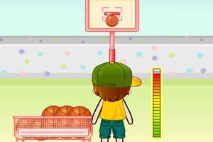 后院篮球练习