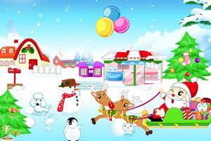布置圣诞村