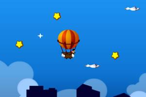 热气球环游世界