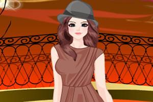 秋季时尚女孩