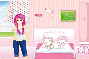 我的粉色卧室