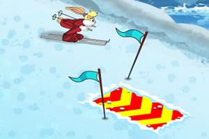 兔小妹障碍滑雪赛