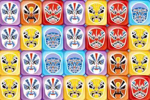 京剧脸谱方块